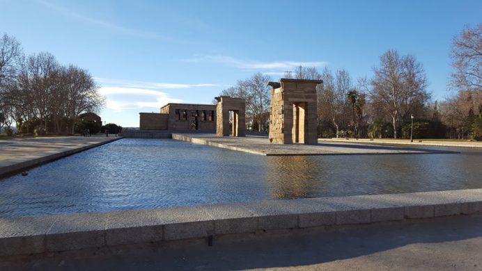 İspanya'nın Başkenti Madrid gezi rehberi: Templo de Debod