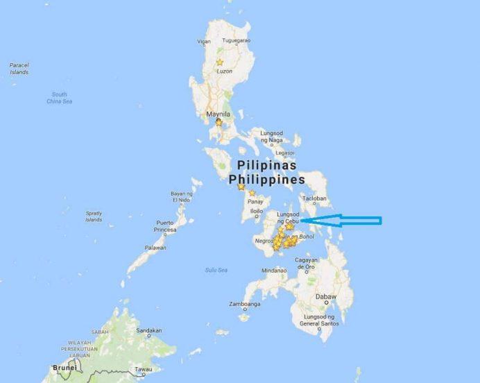 Cebu-adası-nerede
