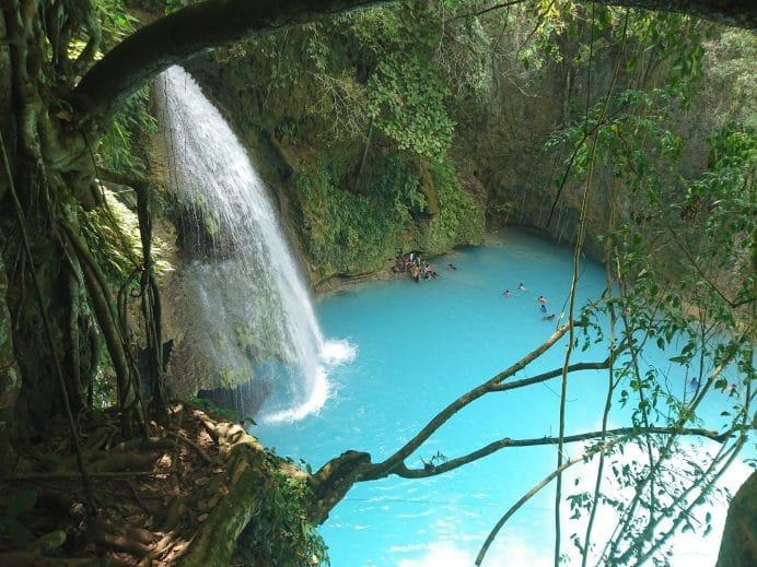 Kawasan-Şelalesi-Cebu-Filipinler