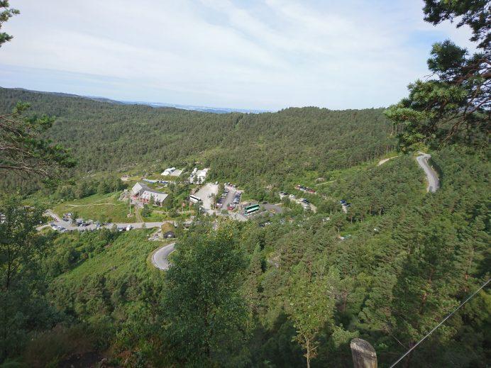 Preikestolen-Norveç-Park-Alanı