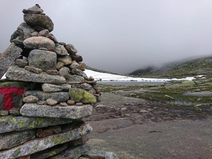 Trolltunga-Tırmanışı-Yol-İşaretleri