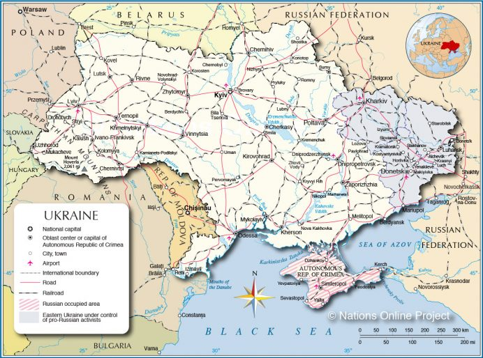 Ukraine-Political-Map