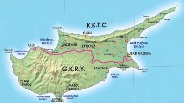 kıbrıs nerede harita