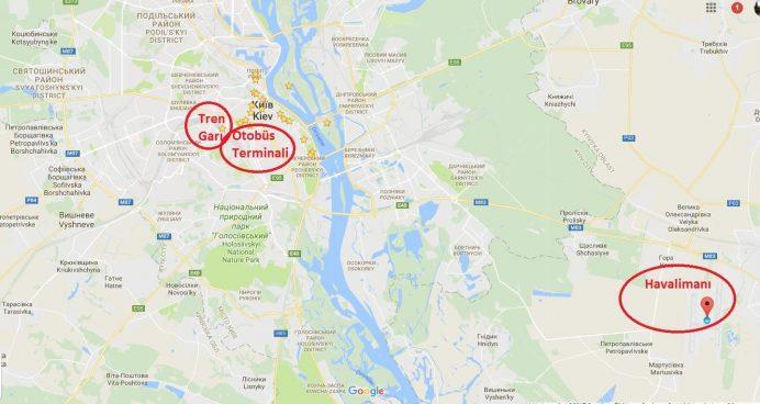 kiev_nerede_harita