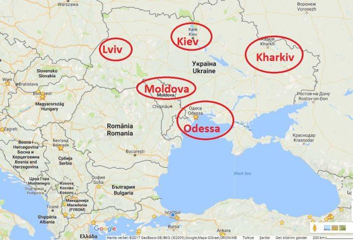 lviv - nerede