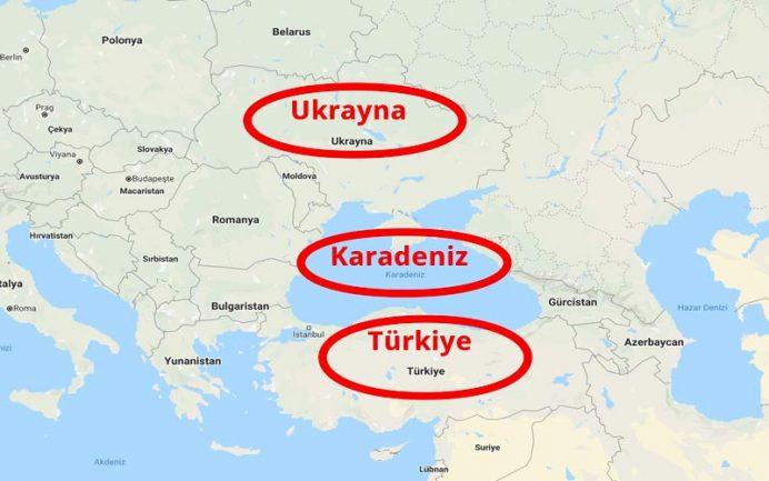 ukrayna nerede haritası