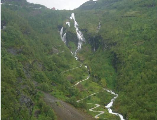 Norveç-Flam-Kasabası