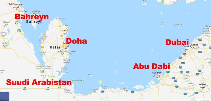 doha_nerede_katar_nerede_haritası