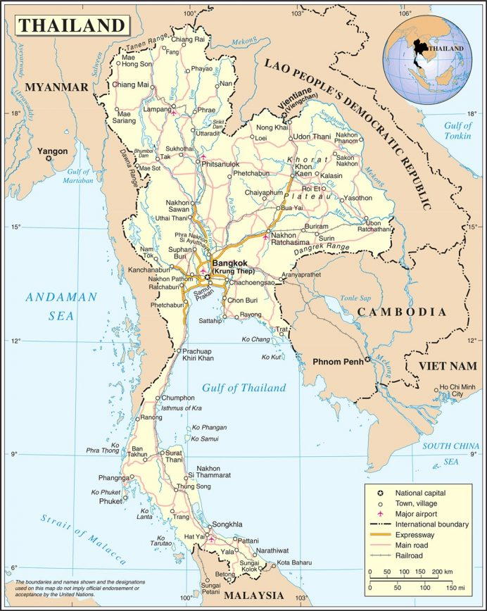 thailand-political-map