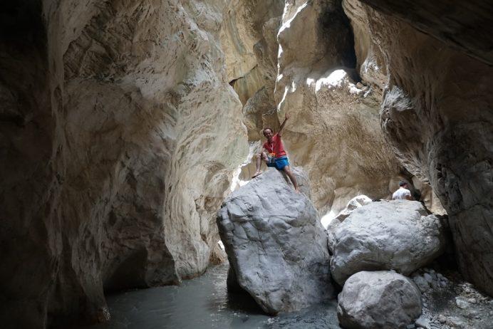 saklıkent kanyon görüntüsü