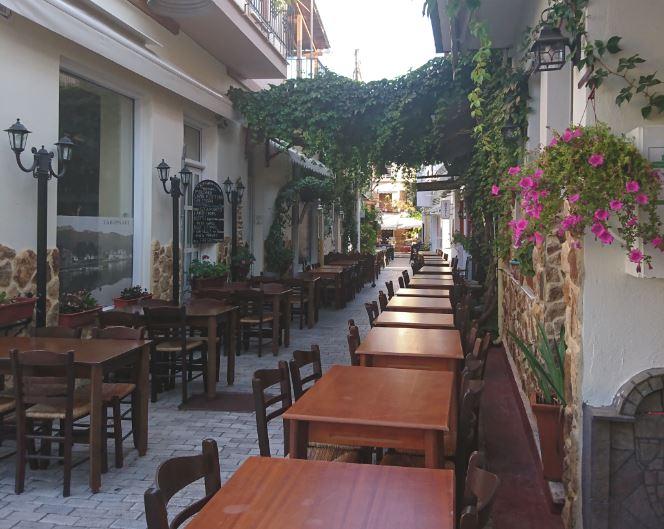 Thassos-Sokakları