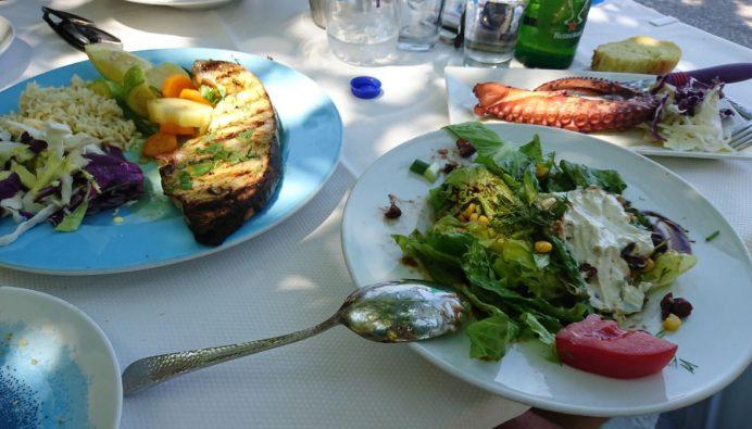 Thassos-Yemek