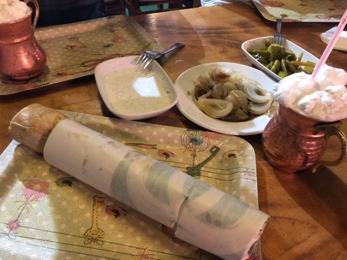 Denizli yemekleri - Denizli kebabı