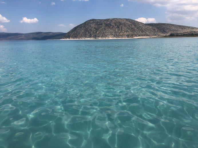 salda gölünden görüntü
