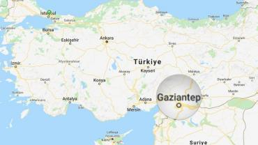 gaziantep-nerede-harita