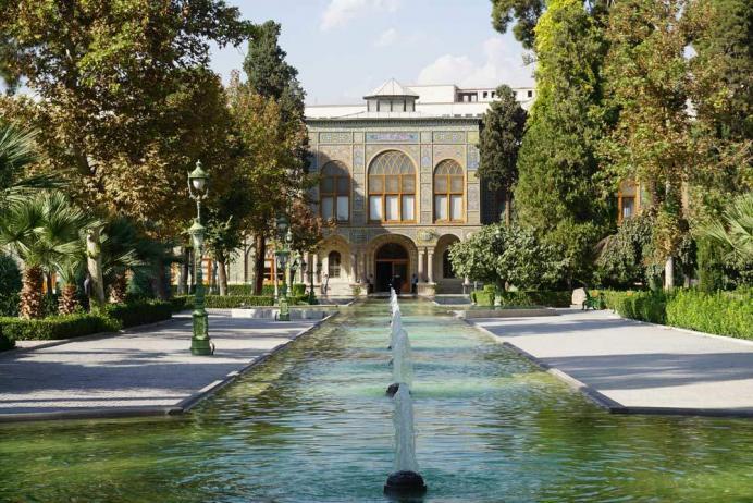 iran şehirleri - iran gezilecek yerler - tahran gülistan sarayı