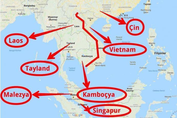 vietnam nerede dünya haritası