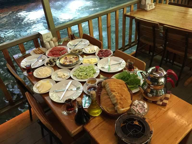 yuvarlakçay çınar restoran kahvaltı ve yemekler