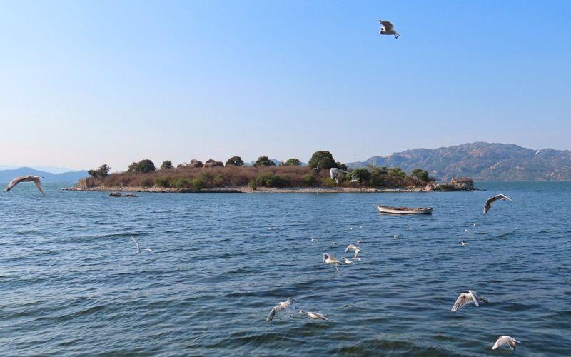 Bafa Gölü tekne turu
