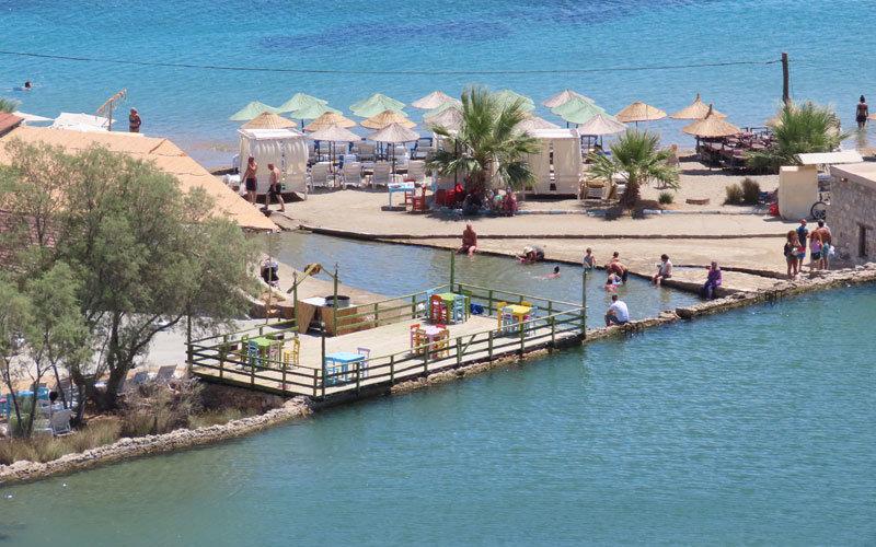 Taşlık Plajı Datça koyları