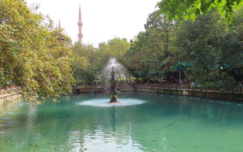 Ayn Zeliha Gölü Şanlıurfa