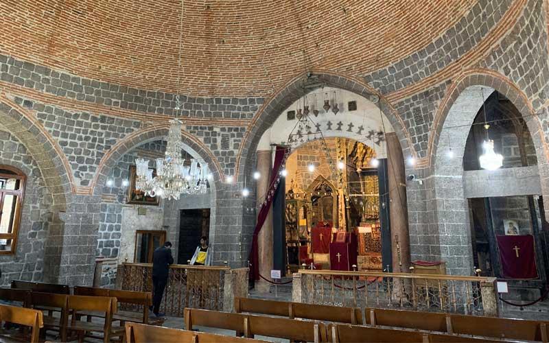 Diyarbakır gezilecek yerler Meryem Ana Kilisesi