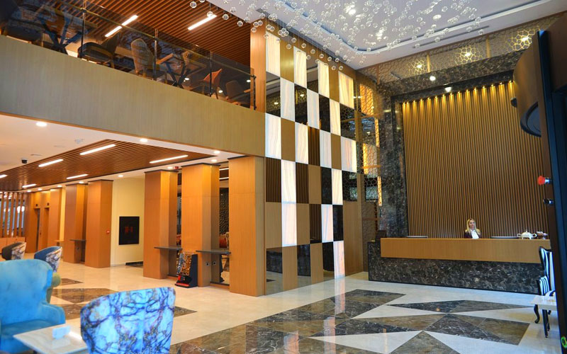 New Garden Hotel Diyarbakir lobby
