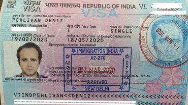 hindistan vizesi nasıl alınır