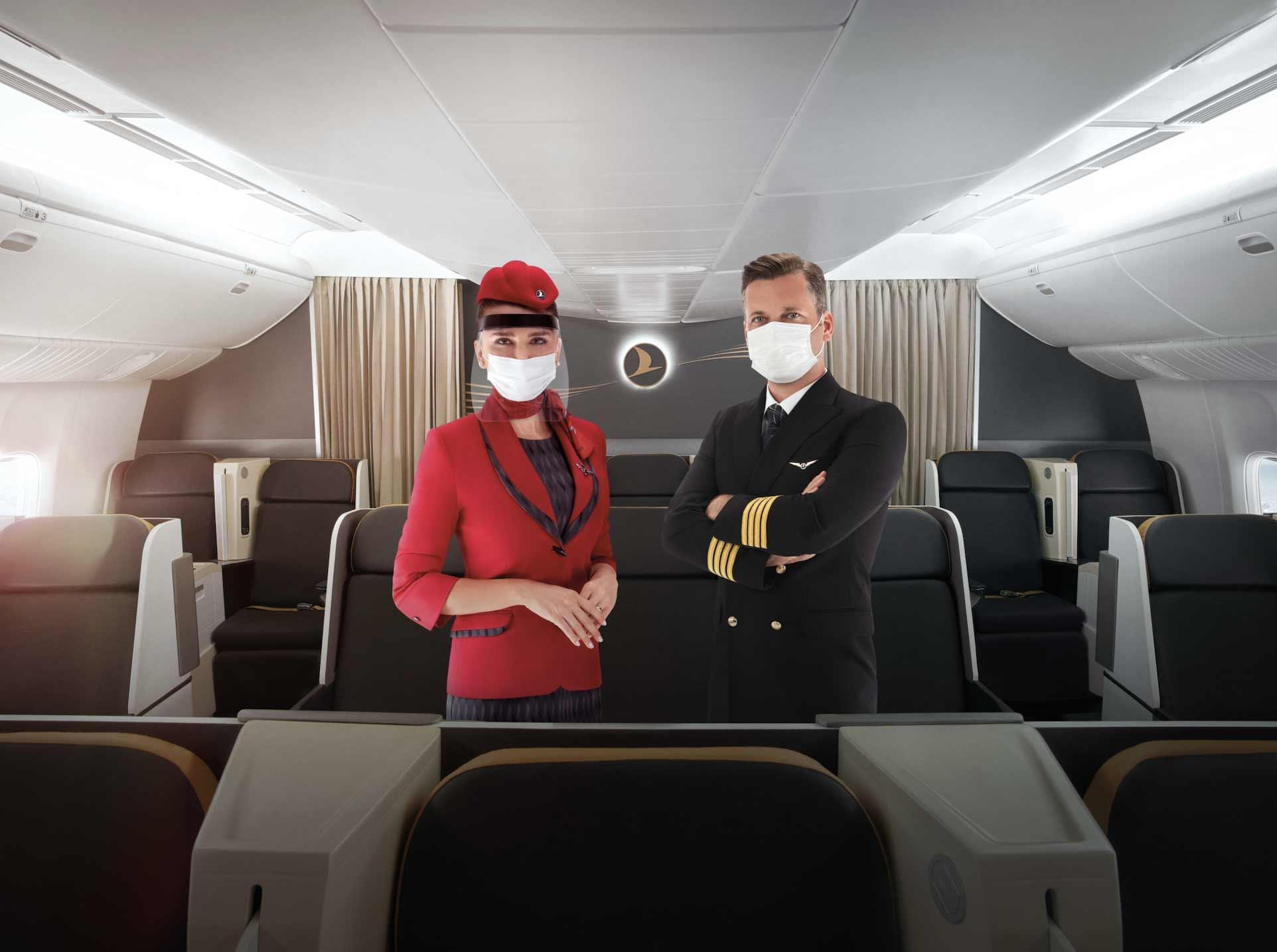 Pandemide Uçaklarda Alınmış Güvenlik Önlemleri THY