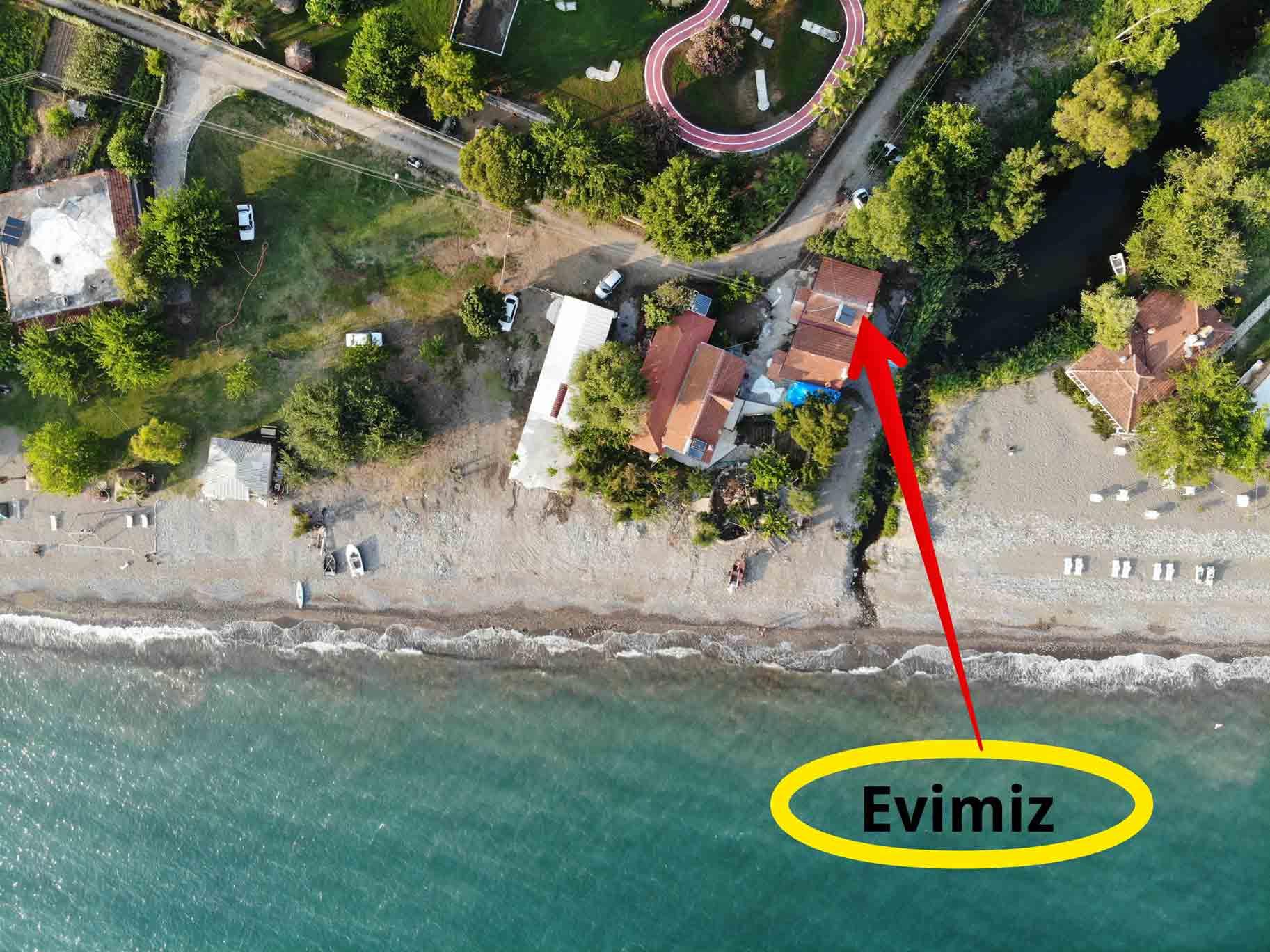 fethiye kiralık ev yaniklar sahil evi